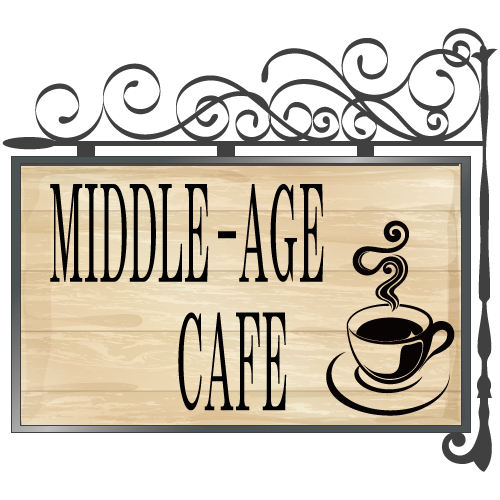 MIDDLE-AGE-CAFEのイメージロゴ