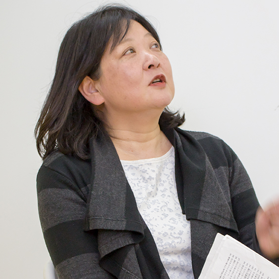 樫木トレーナーの宣材写真