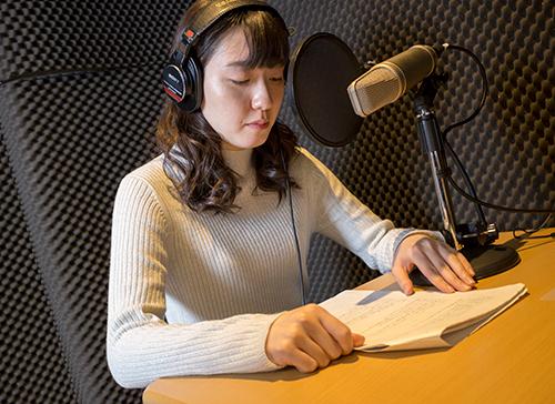 声優のボイスサンプル収録